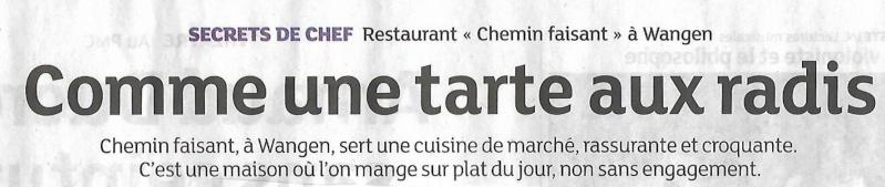 Le restaurant Chemin Faisant à Wangen. Scan0012