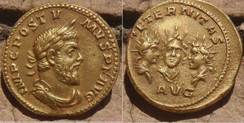 Faux, Copies , Reproductions modernes et Médailles commémoratives Postum10