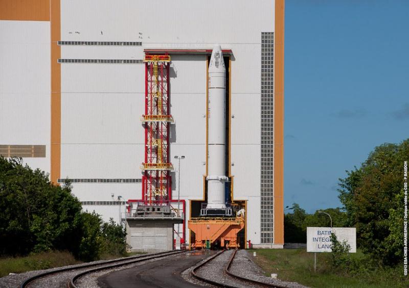 Lancement Ariane VA230 - Echostar 18 et BRISAT - 18 juin 2016   Transf12