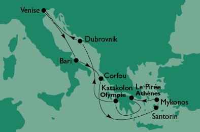 Croisière en méditerrannée Escale10