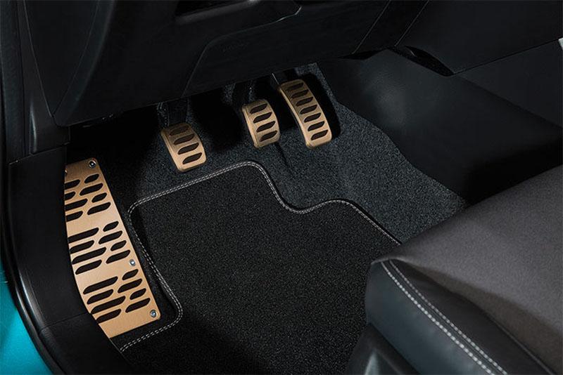 Aluminium Pedal Cover Pads 990e0-10