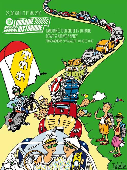 16 ème Rallye de Lorraine Historique Rallye10