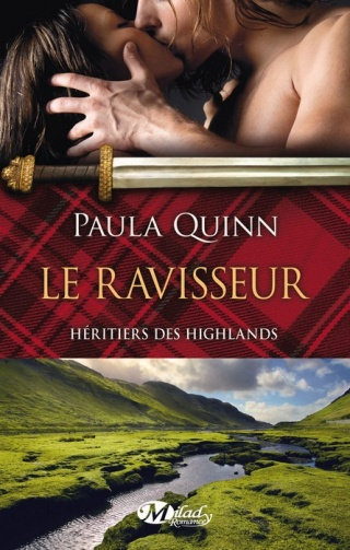 HÉRITIERS DES HIGHLANDS (Tome 1) LE RAVISSEUR de Paula Quinn 1406-h10