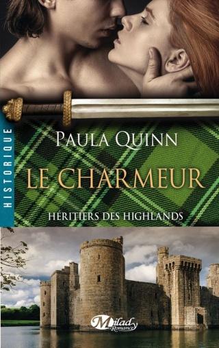 HÉRITIERS DES HIGHLANDS (Tome 2) LE CHARMEUR de Paula Quinn 1408-h10