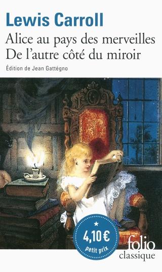 ALICE AU PAYS DES MERVEILLES - DE L'AUTRE CÔTÉ DU MIROIR de Lewis Carroll 814zdq10