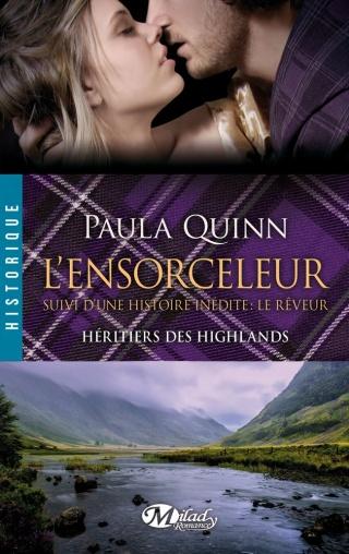 HÉRITIERS DES HIGHLANDS (Tome 4) L'ENSORCELEUR de Paula Quinn Ensorc10