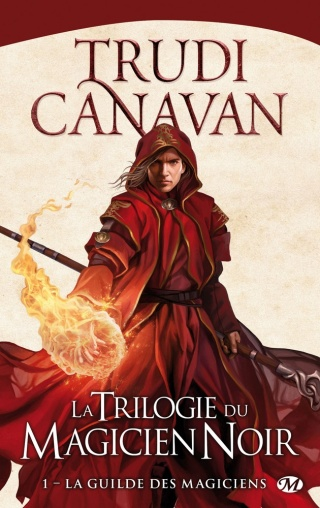 LA TRILOGIE DU MAGICIEN NOIR (Tome 1) LA GUILDE DES MAGICIENS de Trudi Canavan Magici10