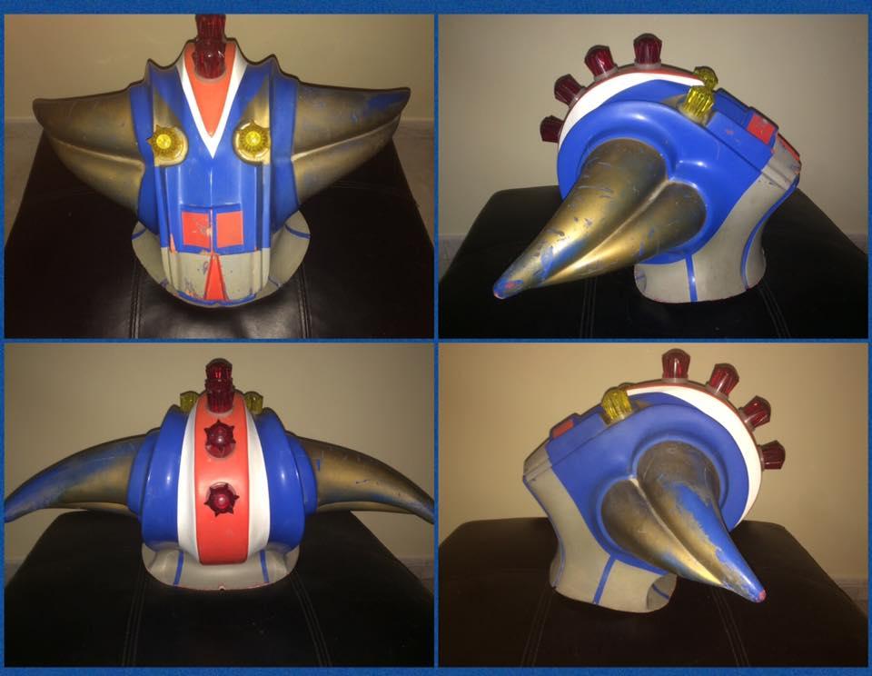 Goldrake Atlas Ufo Robot Goldorak Grendizer Testa Vintage Giostra Toys 70/80 12592610