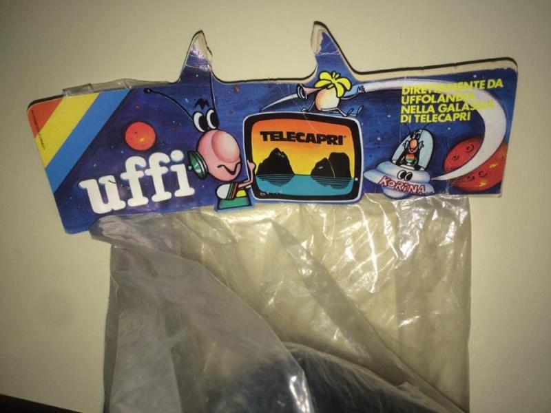 Pupazzo TV Cartoni Animati UFFI TeleCapri Gadget Pubblicitario raro 80 Vintage 12990910