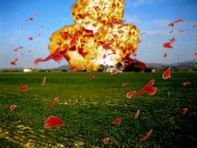 Explosion de Sherm Les-ro11