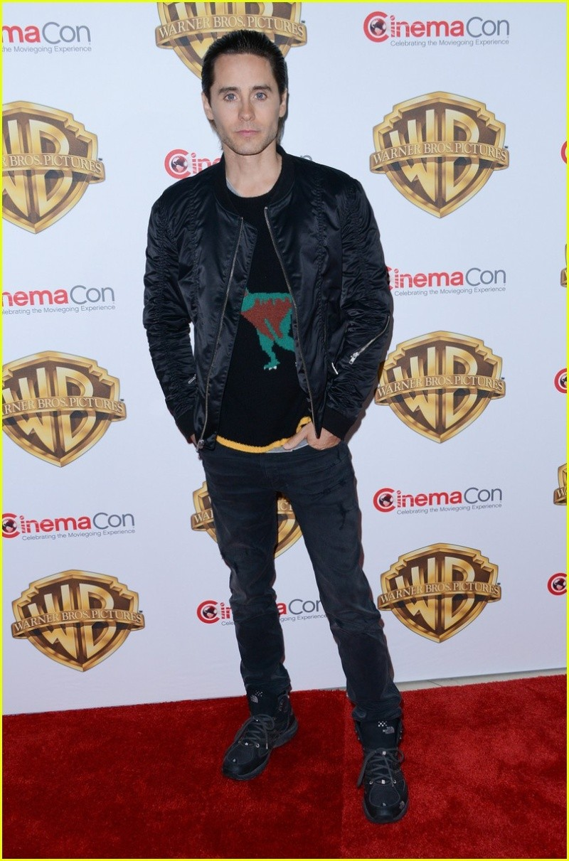 Jared Leto : CinemaCon le 12 Avril 2016 Suicid10