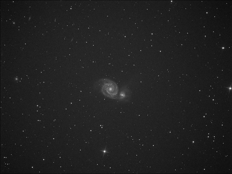 première lumière atik 383L  M51ati10