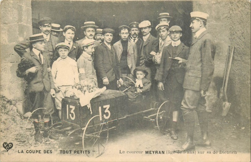 Championnats de jouets sportifs 1932 - (voitures à pédales) Voitur12