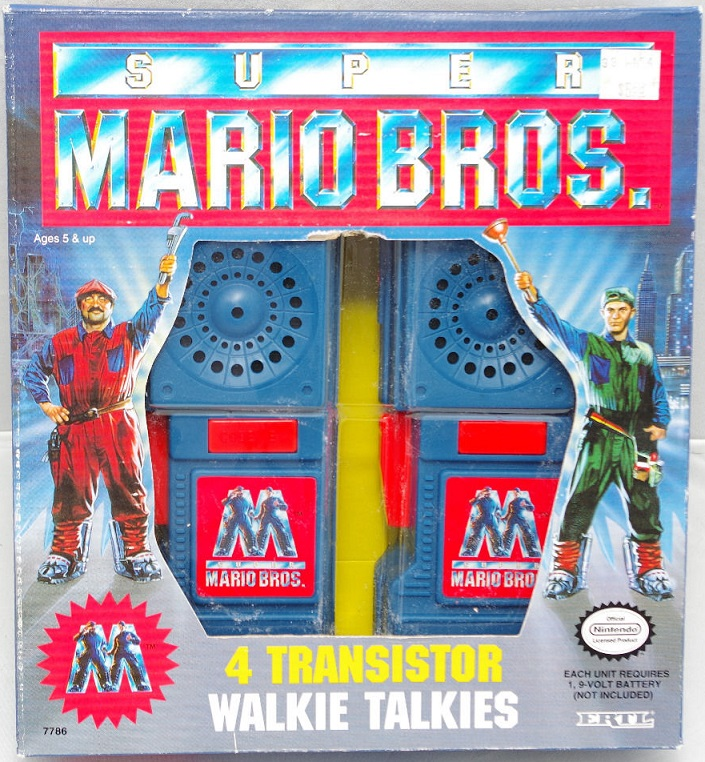 SUPER MARIO BROS THE MOVIE (ERTL) 1993 Mar10