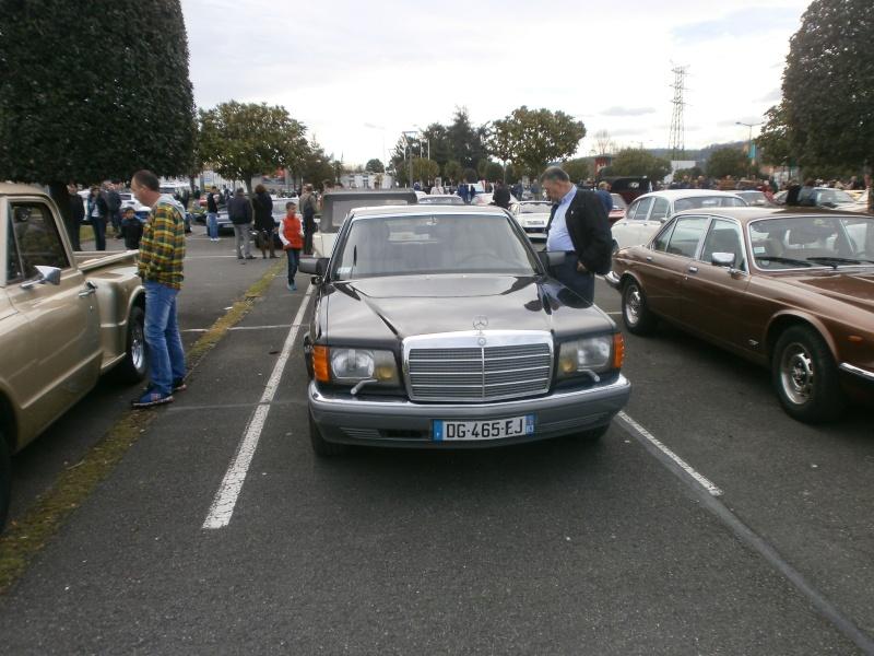 W126 présentes au rassemblement informel du premier dimanche de chaque mois à Pau-Lescar P4030014