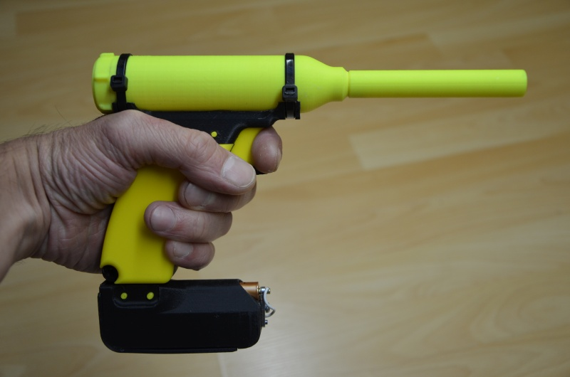 Pistolet à butane imprimé 3D Mini_p11