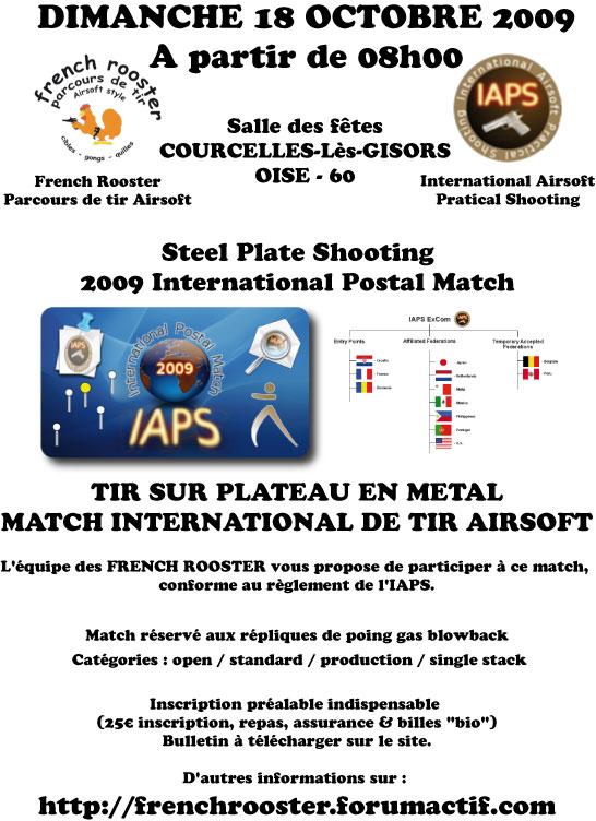 IAPS steel plates shooting Affich10