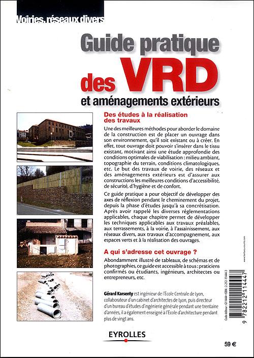 Guide pratique des VRD et aménagements extérieurs 22222210