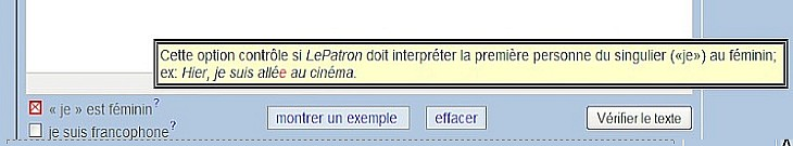 outil de correction en ligne Sans_t54