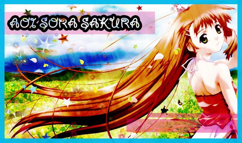 Aoi Sora Sakura