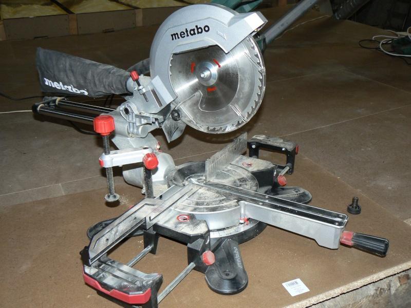 Avis METABO - Scie à onglet et radiale KGS 254 M - 1800W P1050910