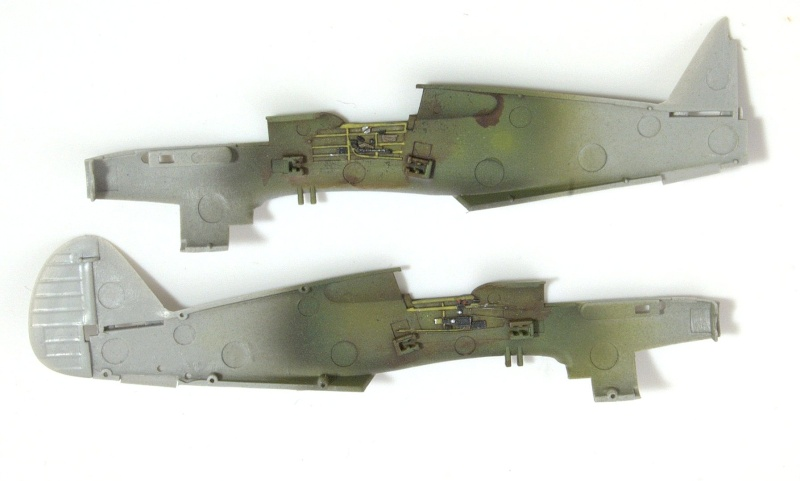 Curtiss P-40 Airfix et Trumpeter - 1/72 - special project 1810