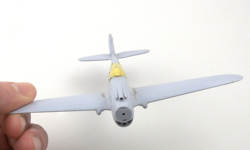 Curtiss P-40 Airfix et Trumpeter - 1/72 - special project 2710