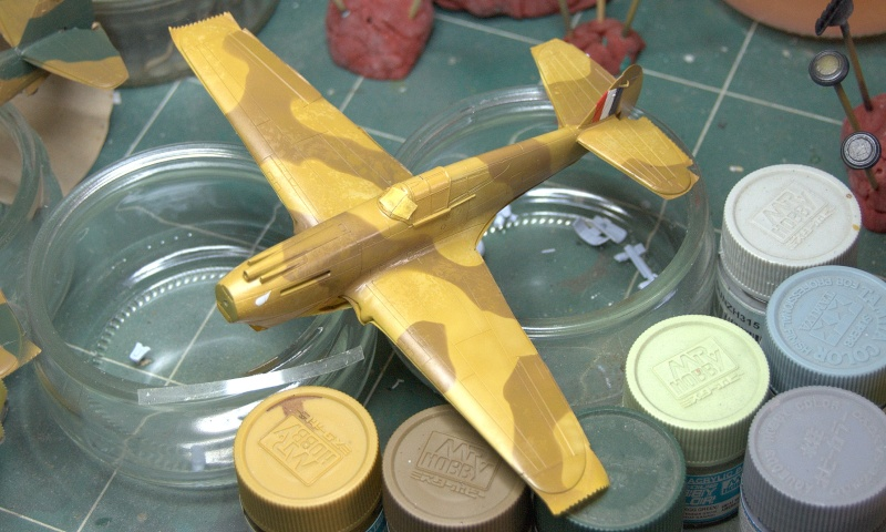 Curtiss P-40 Airfix et Trumpeter - 1/72 - special project 2910