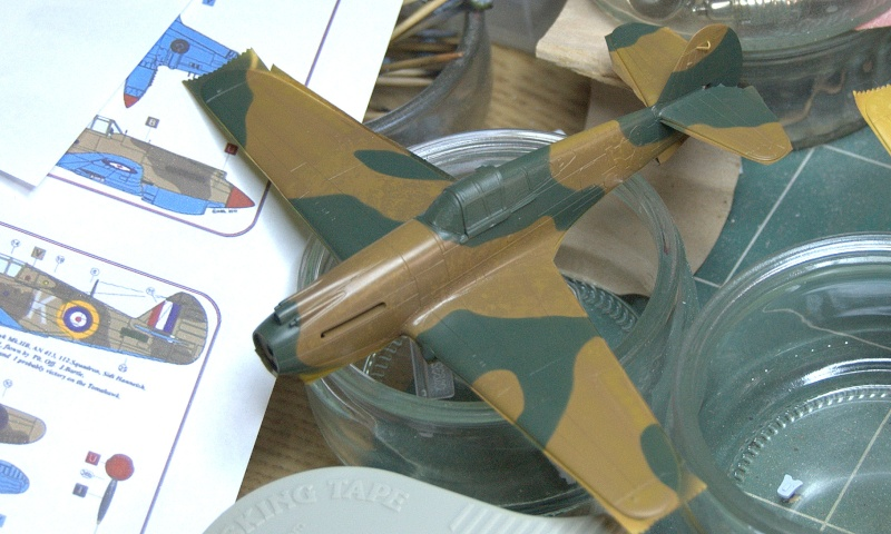 Curtiss P-40 Airfix et Trumpeter - 1/72 - special project 3010