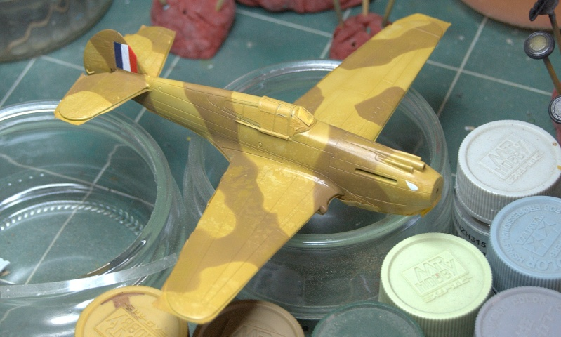 Curtiss P-40 Airfix et Trumpeter - 1/72 - special project 3110