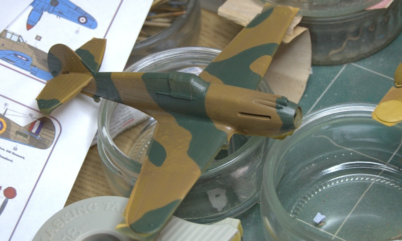 Curtiss P-40 Airfix et Trumpeter - 1/72 - special project 3210