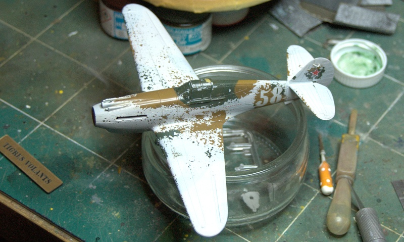 Curtiss P-40 Airfix et Trumpeter - 1/72 - special project 3310