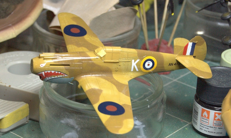 Curtiss P-40 Airfix et Trumpeter - 1/72 - special project 3410