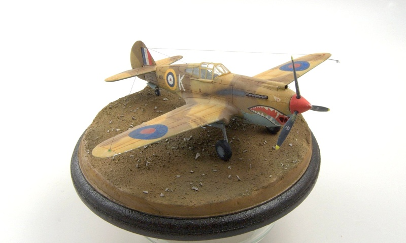 Curtiss P-40 Airfix et Trumpeter - 1/72 - special project 5110