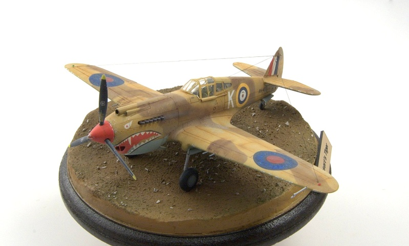 Curtiss P-40 Airfix et Trumpeter - 1/72 - special project 5210