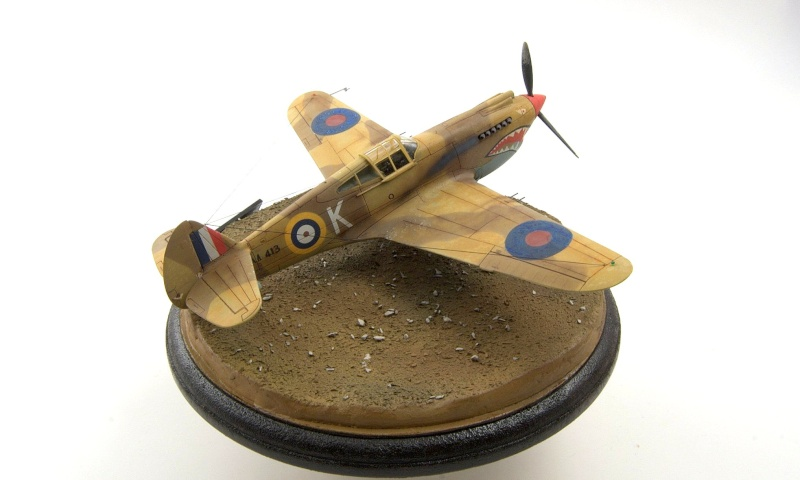 Curtiss P-40 Airfix et Trumpeter - 1/72 - special project 5410