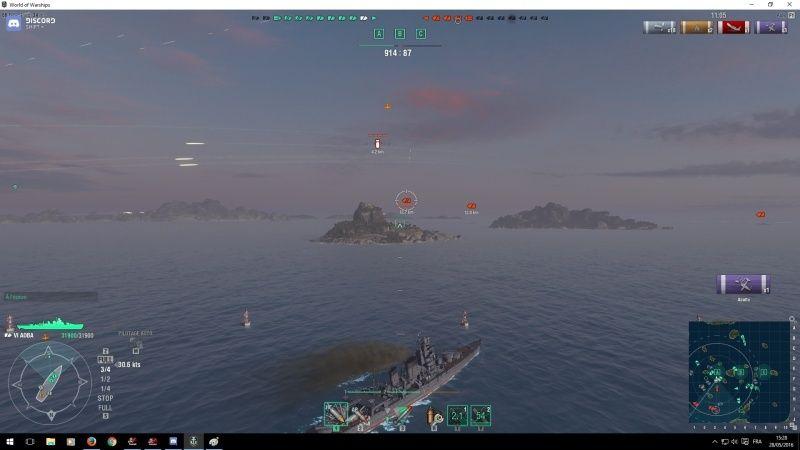 World of Warship Combat11