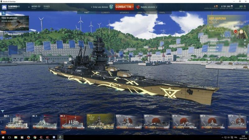 World of Warship Haruna10