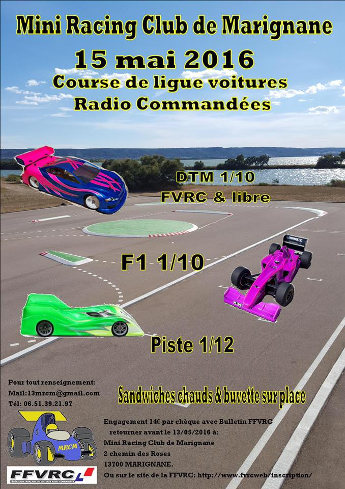 3 juillet 2016 au Mini Racing Club de Marignane LIGUE 10 Open/Promo et Amicale Piste 1/10 elec 13087510