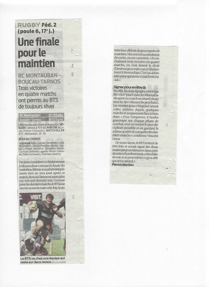 Ditect-Live RC Montauban/BTS Articl11