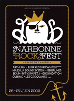 Festival Narbonne RockFest le 27.06.09 14367310