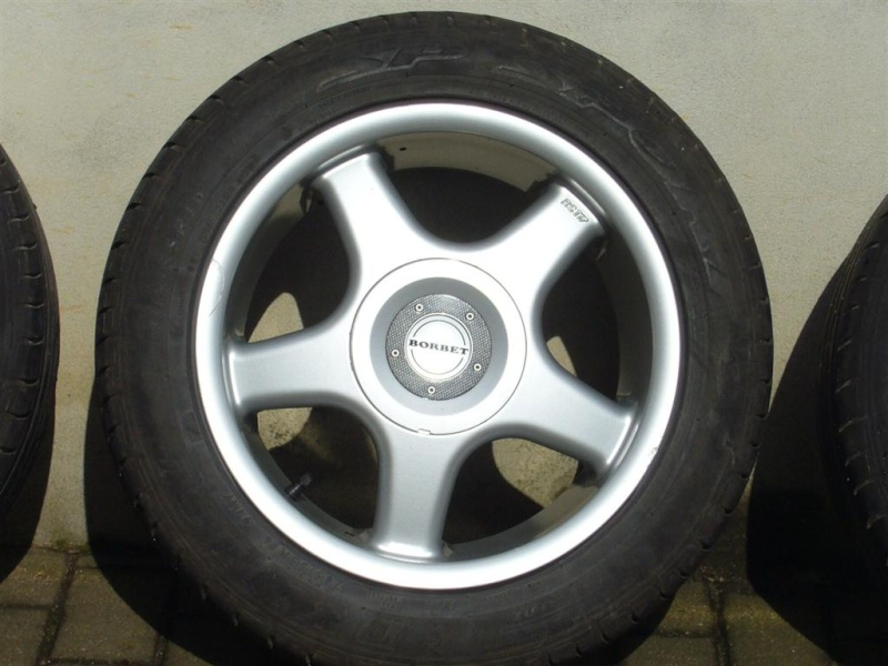 4 velgen Borbet + 4 Dunlop SP Sport 01 205/55 R16 *VERKOCHT* P1020010