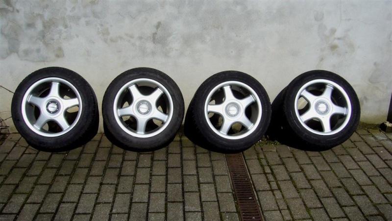 4 velgen Borbet + 4 Dunlop SP Sport 01 205/55 R16 *VERKOCHT* P1020011