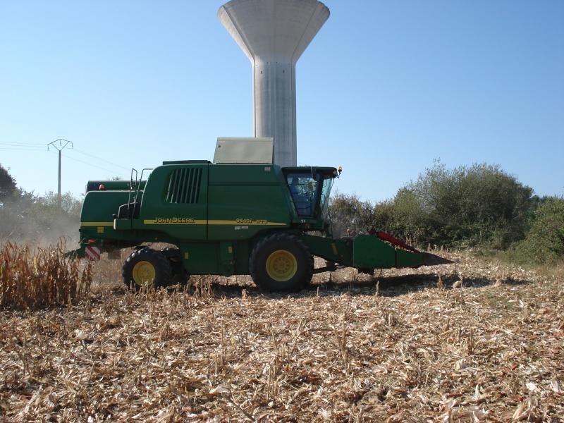 Moissons maïs 2009 Dsc05417