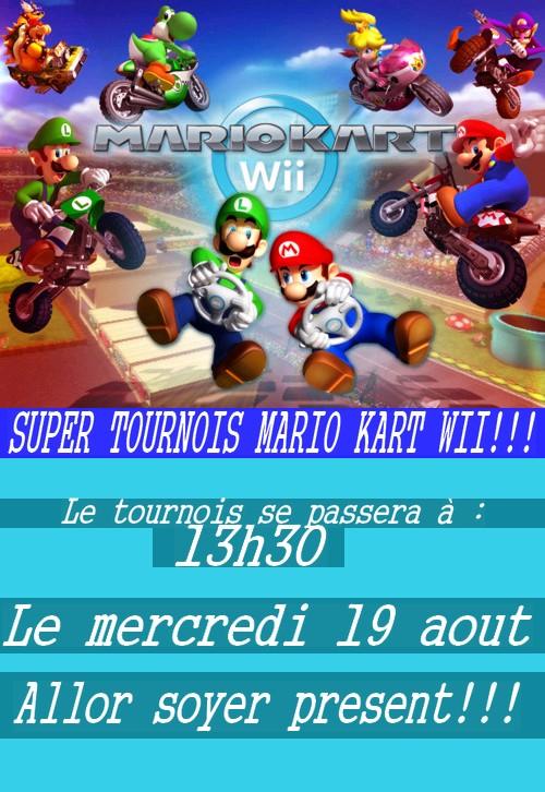 Super tournois mario kart wii!!! Tourno10