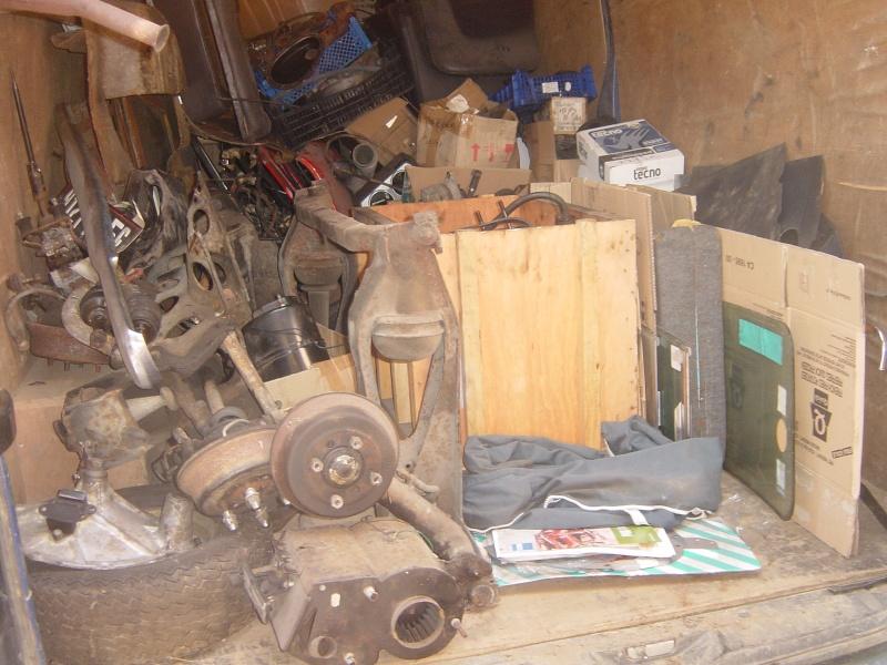 Sortie du fond du garage, une Clubman estate !  Dsc09024