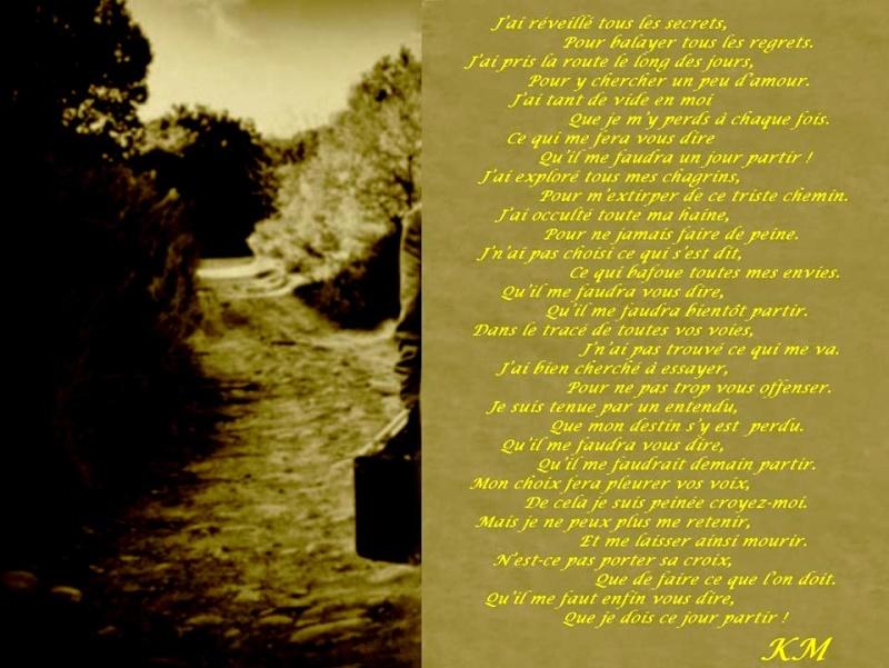 poésie simpliste Partir10