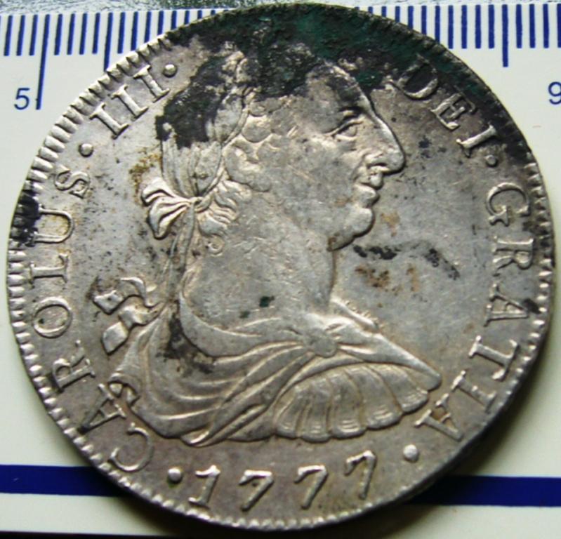España. Carlos IV (1788-1808). 8 Reales 1807 POTOSÍ* EROSIONES MARINAS * Antes_10