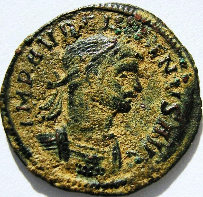 Antoniniano de Aureliano.  RESTITVTOR  ORBIS. Cízico Aureli12