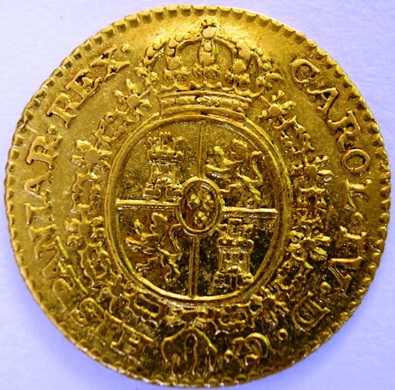 Medio escudo Carlos IV 1782 Madrid. C_iv_m12